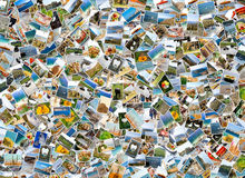 Collage of photo stock illustration