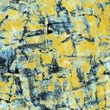 Collage pintado, textura del grunge Foto de archivo