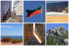 Collage - Portugal Stock Images