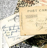 Collage of postcards Royalty Free Stock Image