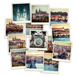 Collage Prague Sights Stock Photography
