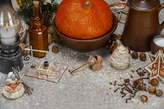 Collage - siècle orthodoxe de Noël 18 photographie stock