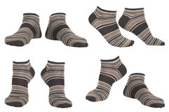 Collage of socks Royalty Free Stock Photos