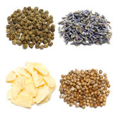 Collage of spices Royalty Free Stock Images