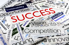 Collage  success Royalty Free Stock Photo