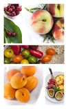 Various Summer fruits Stock Image