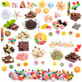 Collage sweets Royalty Free Stock Image
