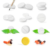 Collage of tablets Royalty Free Stock Images