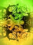 Collage texturizado extracto de las técnicas mixtas del Grunge, arte Imagen de archivo libre de regalías