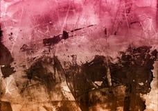 Collage texturizado extracto de las técnicas mixtas del Grunge, arte libre illustration
