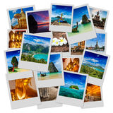 Collage of Thailand images Royalty Free Stock Images