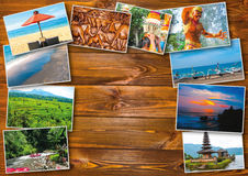 The collage on the theme of Bali, Indonesia Royalty Free Stock Photography