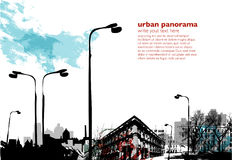 Collage urbain Image stock
