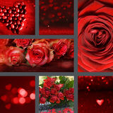 Collage Valentines day Royalty Free Stock Photo