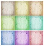 Collage van abstracte achtergronden royalty-vrije stock foto