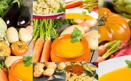 Collage van groenten royalty-vrije stock fotografie