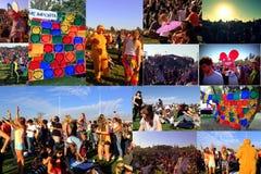 Collage van het Behandelingsoverleg in Chili Royalty-vrije Stock Foto