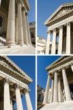 Collage van hoven royalty-vrije stock afbeelding