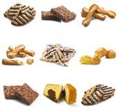 Collage van koekje royalty-vrije stock foto's