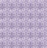 Collage van lilac patroontegels in Portugal Stock Afbeelding