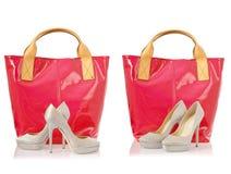 Collage van schoenen Royalty-vrije Stock Foto