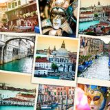 Collage from Venice Royalty Free Stock Image