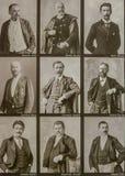 Collage von berühmten ungarischen historischen Zahlen Lizenzfreie Stockfotografie
