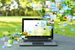 Collage von Bildern Lizenzfreie Stockfotos