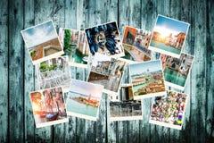 Collage von Fotos von Venedig Lizenzfreies Stockfoto