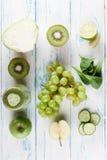 Collage von Obst und Gemüse von Lizenzfreie Stockfotografie