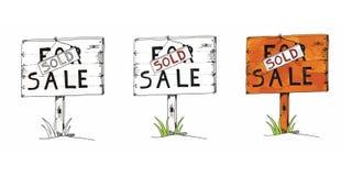 Collage voor verkoop Stock Fotografie