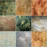 Collage wall texture Royalty Free Stock Photography