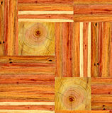 Collage of wooden planks Royalty Free Stock Photography