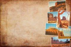 Collagebeelden van Monumentenvallei, Arizona, de V.S. Royalty-vrije Stock Fotografie