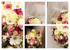 Collagehuwelijk Stock Foto's