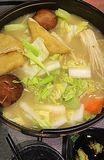 Collagen hotpot. Yummy vegetable collagen hotpot stock photography