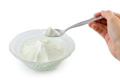 Collagen powder. Royalty Free Stock Photos