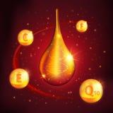 Collagen Serum Design Royalty Free Stock Images
