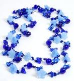 Collana blu scuro Fotografia Stock