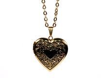 Collana del cuore Fotografia Stock Libera da Diritti