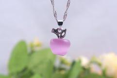 Collana dell'opale di Apple Immagine Stock Libera da Diritti