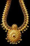 Collana dell'oro Fotografia Stock Libera da Diritti