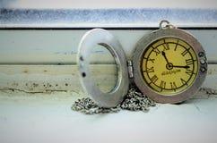 Collana dell'orologio Fotografia Stock