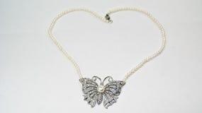 Collana della farfalla fotografie stock libere da diritti