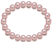 Collana della perla. Fotografia Stock