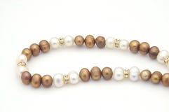 Collana della perla Fotografia Stock Libera da Diritti