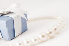 Collana della perla Immagini Stock