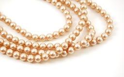 Collana della perla Immagini Stock Libere da Diritti