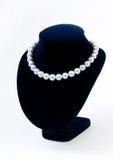Collana della perla fotografie stock libere da diritti