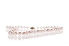 Collana della perla Immagine Stock Libera da Diritti